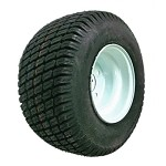 18 x 8.50-8 Turf Tire with Rim (4 on 4)