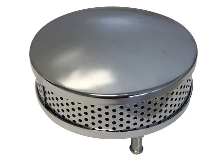 Chrome Air Cleaner/Filter for Harley-Davidson (Removable Vent Tube)