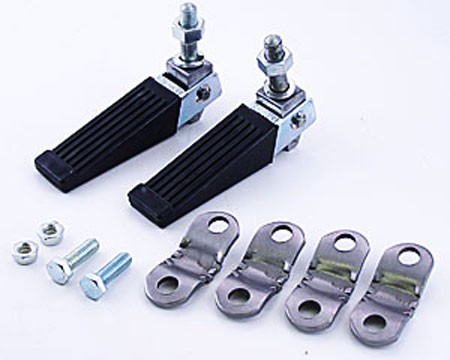 Folding Foot Pegs with Clamps