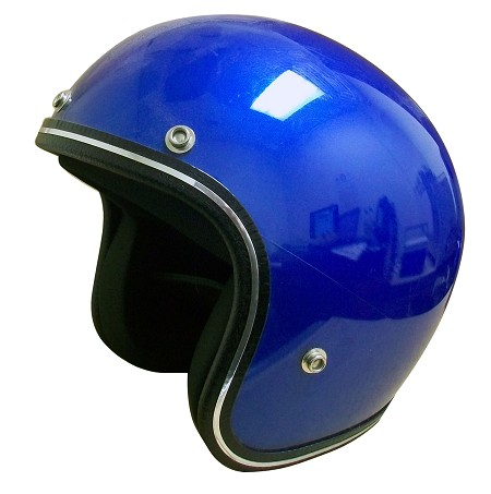 Blue Open-Face Helmet - Medium (adult)