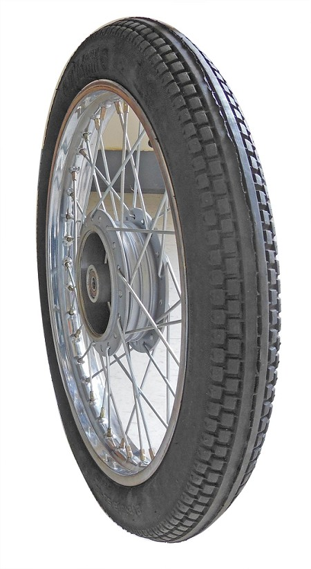 "16"" TVS Moped Tire & Rim With Brake"