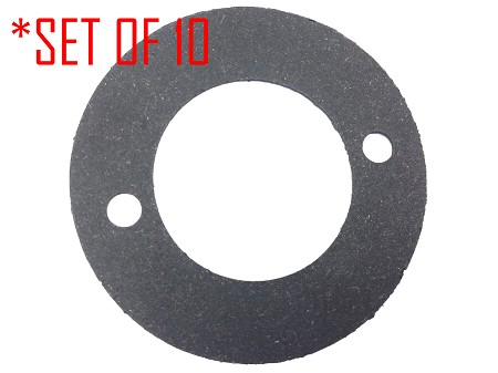 Set of 10 Starter Mounting Gaskets For Harley Sportsters 1980 and Earlier
