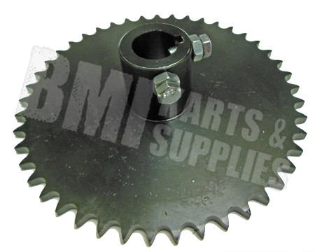 "#40 Sprocket 45T with 1"" Bore"