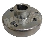 "4"" Brake Drum with 1"" Bore Hub"