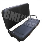 Double Seat Cushion & Frame with Seat Sliders