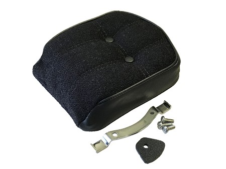 Genuine Harley-Davidson Black Backrest for FX Series