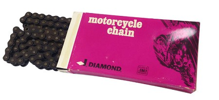 Diamond Motorcycle Chain-#530 106 Link