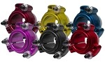 "Colored Aluminum Racing Wheel Hub (1-1/4"" Bore)"