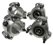 "Lightened Aluminum Racing Wheel Hub Set (Front and 1-1/4"" Rear)"