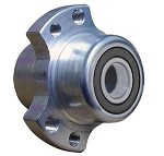 "**Out of Stock**Extended Aluminum Racing Wheel Hub (Front with 5/8"" Bearings)"