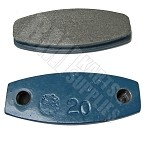 High Performance Mini Lite Brake Pad (Blue #20)