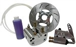 "1"" or 1 1/4"" Hydraulic Brake Kit - Clear"