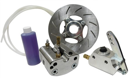 "1"" or 1 1/4"" Single Line Hydraulic Brake Kit"