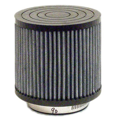 "Straight Fabric Air Filter, 2-7/16"" (Inlet) x 4"" (Tall)"