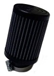 "Animal Fabric Air Filter, 1-1/4"" (Inlet) x 4"" (Tall)"