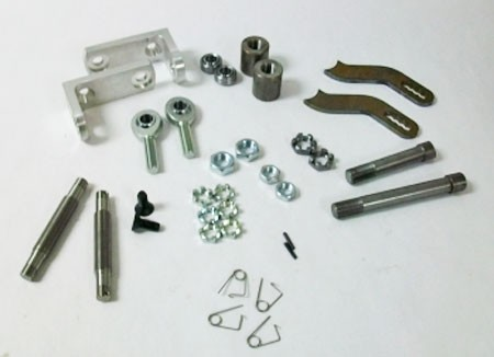 U-Weld Adjustable Spindle Kit with Heim Joints