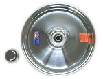 "10"" Douglas Polished Aluminum Front Wheel"