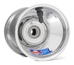 "5"" Douglas Polished Aluminum Front Wheel"