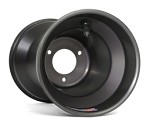 "6"" Douglas Q+ Aluminum Wheels - Black"