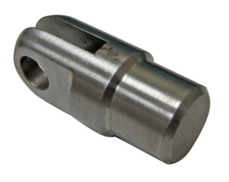 "Slot Clevis for Frame Tubing with 3/4"" ID"