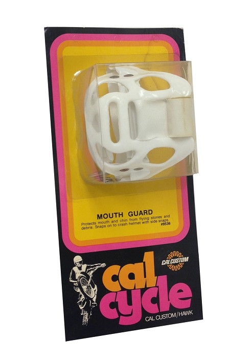 Vintage Cal Cycle Mouth Guard