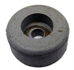 "Universal Gym Rubber Stopper - 5/16"" ID x 1-1/2"" OD x 5/8"" H"