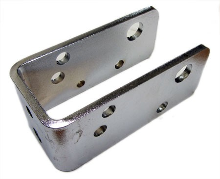 Centurion Roller Assembly Chrome Bracket