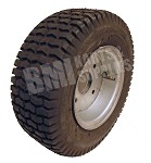 "13 x 5.00-6 Tire, Tube & 6"" Split Rim (Off Returned Kart)"