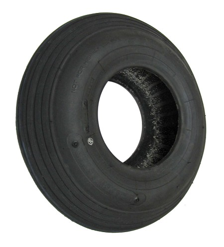 13 x 4.00-6 Ribbed Round Profile Tire