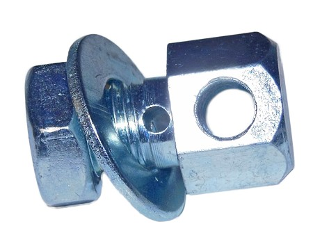 Rod/Cable Coupler with Nut & Washer
