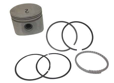 "Piston Kit, Complete with Rings & Pin Harley-Davidson Big Twins 80"" (Low Compression)"