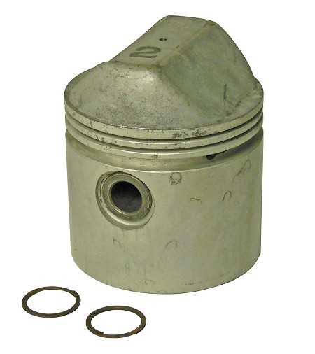 Piston With Pin & Locks For Harley-Davidson 900cc Ironhead Sportsters (1971 & Earlier)