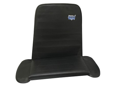 High Back Double Vinyl Seat From USA Industries