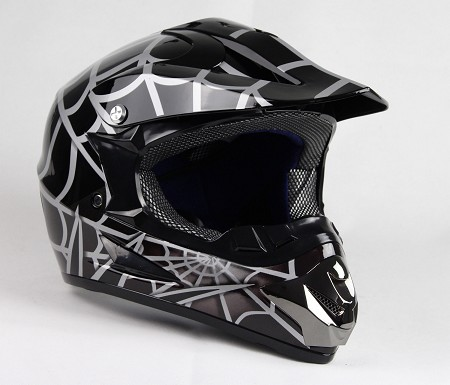 Off Road Youth Helmet (Black/Spider)