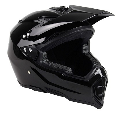 Adult Off Road Helmet (Black)