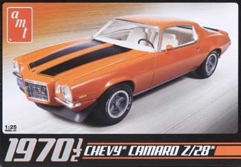 1970-1/2 Camaro Z28 (1/25 Scale) Model from AMT #635