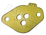 "3-Hole Gold (.312"") Restrictor Plate for Briggs Animal Engine (IKF JR 2  / APS Stamped)"