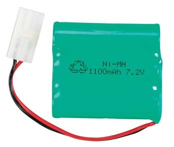 NiMH 3/3 7.2V 1100MAh RR2 Mini Rio from AquaCraft