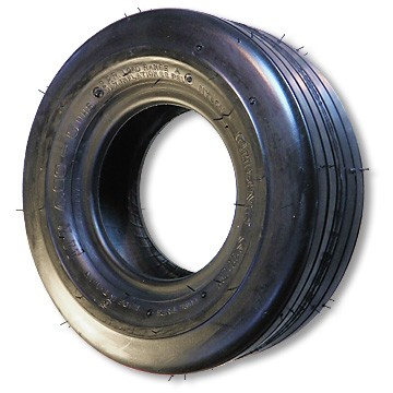13 x 6.50-6 Ribbed Flat Profile Tire