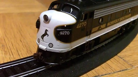 Thoroughbred Norfolk Southern Train Set from Bachmann 00691 - HO Scale