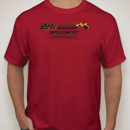 BMI Indoor Speedway Shirt - Red  (Youth)