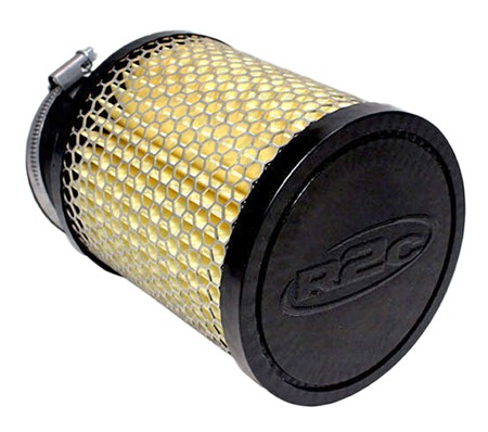 "Angled Fabric Air Filter, 2-7/16"" (Inlet) x 5"" (Tall)  from R2C Performance"