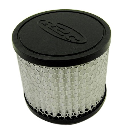 "Straight Fabric Air Filter, 2-7/16"" (Inlet) x 4"" (Tall) from R2C Performance"