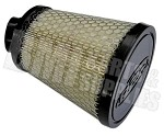 "Tapered Fabric Air Filter, 1-1/4"" (Inlet) x 5"" (Tall) for Briggs Animal from R2C Performance"