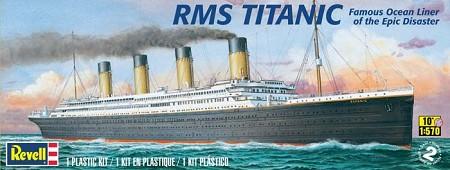 Titanic Ocean Liner (1/570 Scale) from Revell Models #850445