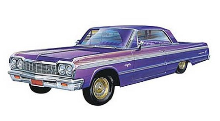'64 Chevy Impala Lowrider (1/25 Scale)from Revell Models #852574
