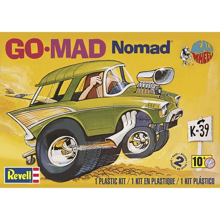 Dave Deal's Go-Mad Nomad (1/25 Scale) Car from Revell Models #854310