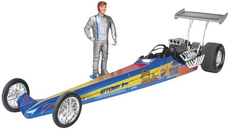 Jungle Jim Rail Dragster (1/25 Scale) Race Car from Revell Models #854312