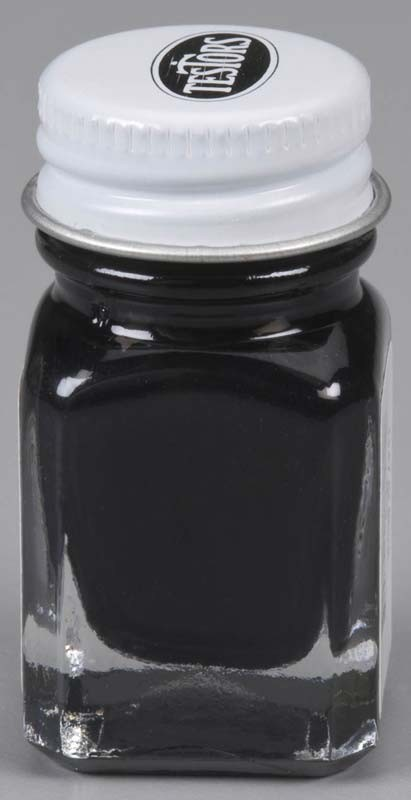 Testors Gloss Black Paint (1/4 oz)