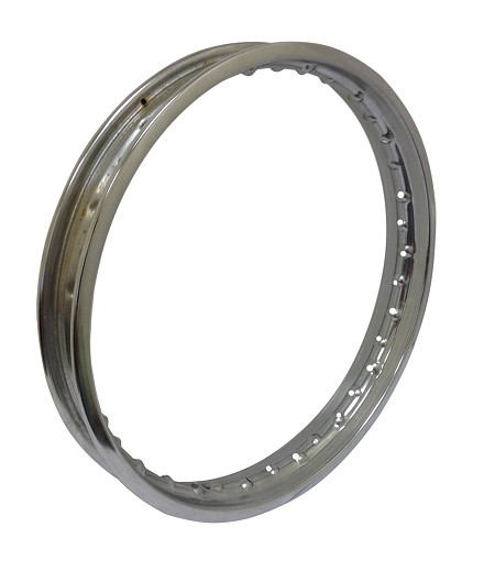 "Motorcycle Chrome Rim (16"" x 1.40"")"